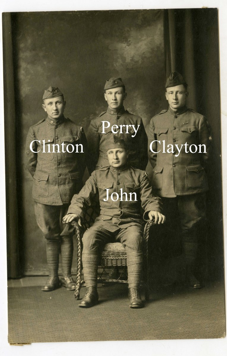 WWI Ohio Soldier Research - Defiance, Ohio Soldiers Identified as Ward Family Veterans