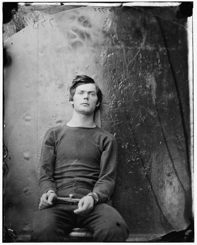 Lewis Payne in Manacles Front Facing