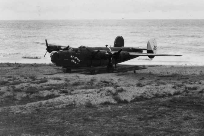 B-24_Liberator_98_Bomb_Group_My_Achin_Back