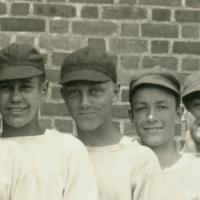 Kent, CT High School's First Baseball Team - A Waterbury, VT Flea Market Find