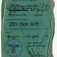 A WWII German Soldier's Wartime Pocket Contents -A German Troop Transport Driver 's Life Unveiled